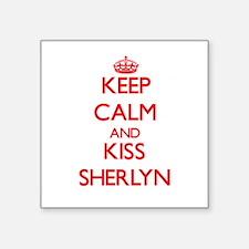 Keep Calm and Kiss Sherlyn Sticker