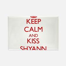 Keep Calm and Kiss Shyann Magnets