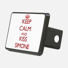 Keep Calm and Kiss Simone Hitch Cover