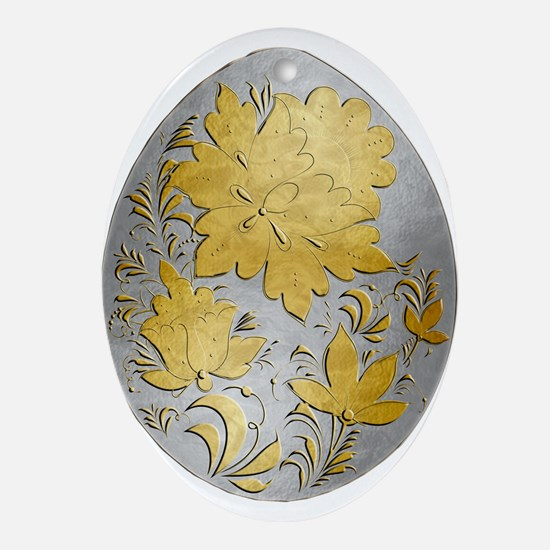 Ukrainian Egg - 20 - Ornament (Oval)