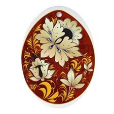 Ukrainian Egg - 6 - Ornament (Oval)