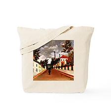 Rousseau - Vue des Environs de Paris; Hen Tote Bag