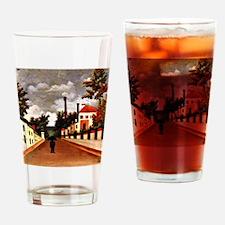 Rousseau - Vue des Environs de Pari Drinking Glass