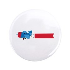 "Airplane Banner 3.5"" Button (100 pack)"