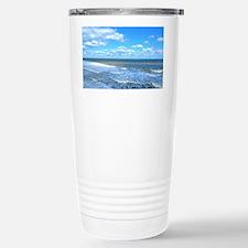 Seafoam waves Travel Mug