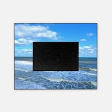 Seafoam waves Picture Frame
