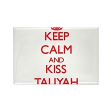 Keep Calm and Kiss Taliyah Magnets