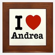 I love Andrea Framed Tile