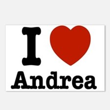 I love Andrea Postcards (Package of 8)