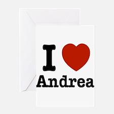 I love Andrea Greeting Card