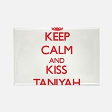 Keep Calm and Kiss Taniyah Magnets