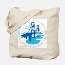 Mackinac Bridge Tote Bag