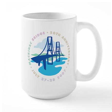 Mackinac Bridge Large Mug