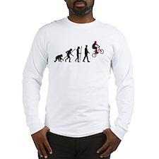 evolution BMX Bike trick jump Long Sleeve T-Shirt