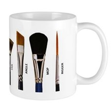 Types Of Brushes  Mug