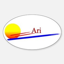 Ari Oval Decal