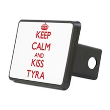 Keep Calm and Kiss Tyra Hitch Cover