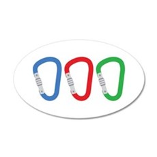 Carabiners Wall Decal