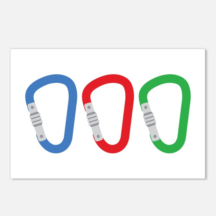 Carabiners Postcards (Package of 8)