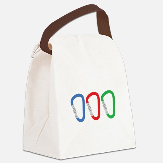 Carabiners Canvas Lunch Bag