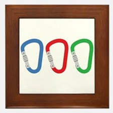 Carabiners Framed Tile