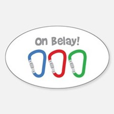 On Belay! Decal