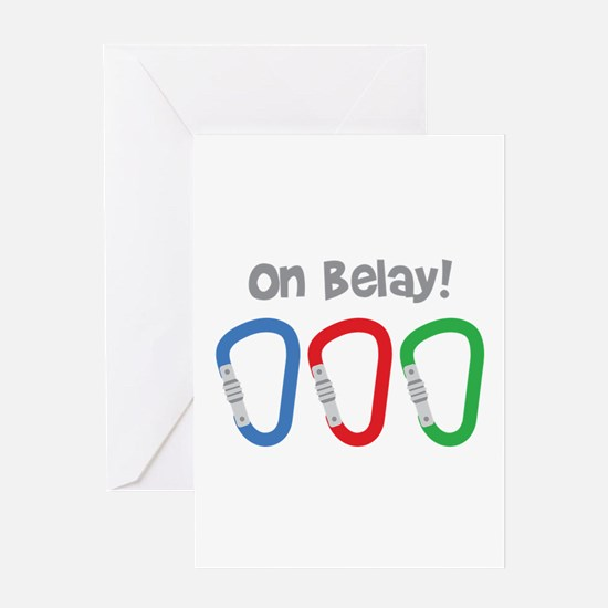 On Belay! Greeting Cards