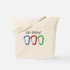 On Belay! Tote Bag