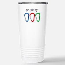 On Belay! Travel Mug