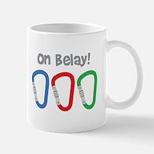 On Belay! Mugs