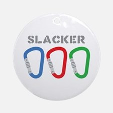 SLACKER Ornament (Round)