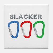 SLACKER Tile Coaster