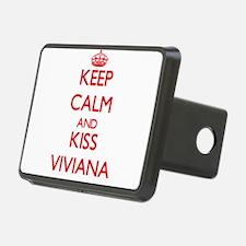 Keep Calm and Kiss Viviana Hitch Cover