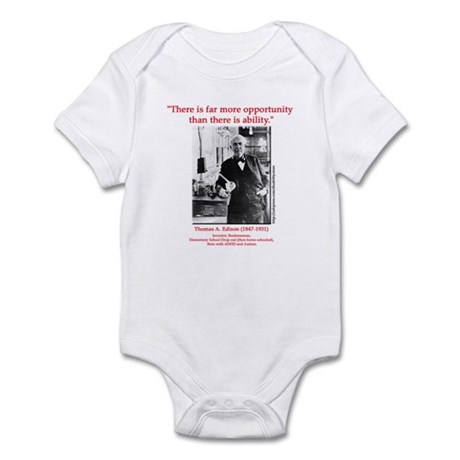 More Opportunity Infant Bodysuit