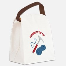 CLIMBING TO THE TOP Canvas Lunch Bag