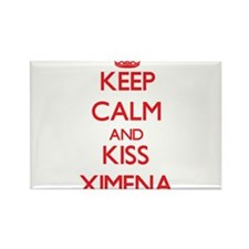 Keep Calm and Kiss Ximena Magnets