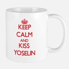 Keep Calm and Kiss Yoselin Mugs