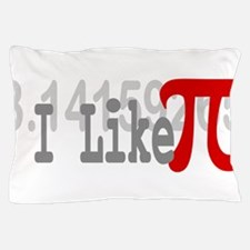 I Like Pi Geeky Pillow Case