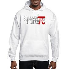 I Like Pi Geeky Hoodie