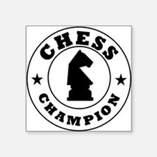 Chess Champion Sticker