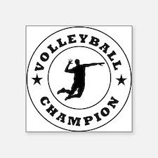 Volleyball Champion Sticker