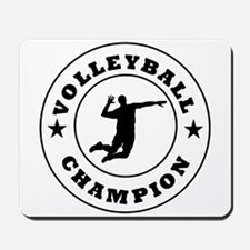 Volleyball Champion Mousepad