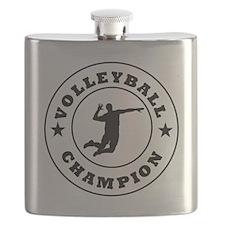 Volleyball Champion Flask