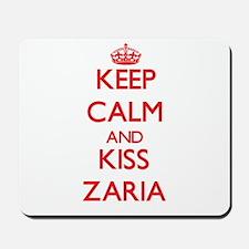 Keep Calm and Kiss Zaria Mousepad