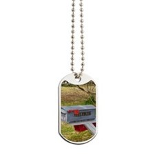 Rural mail boxes Dog Tags