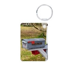 Rural mail boxes Keychains