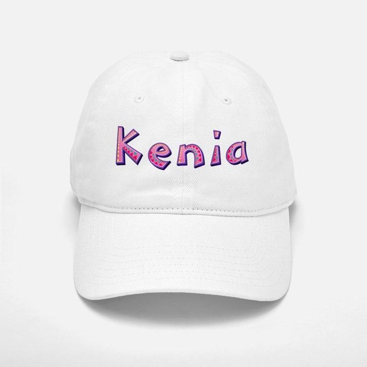 Kenia Pink Giraffe Baseball Baseball Baseball Cap
