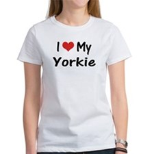 I Heart My Yorkie Tee