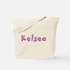 Kelsea Pink Giraffe Tote Bag