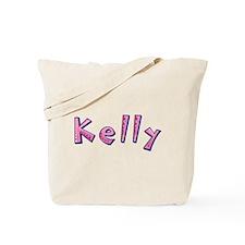 Kelly Pink Giraffe Tote Bag